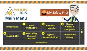 WHMIS 2015 online course Ontario