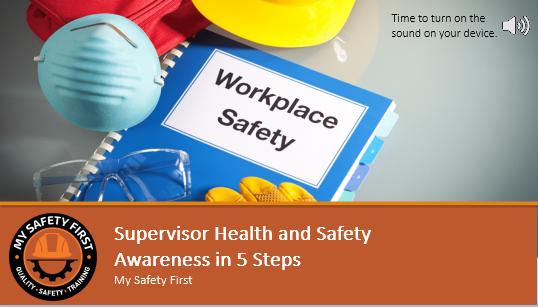 Supervisors Awareness Training
